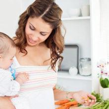 Как похудеть после родов кормящей маме быстро