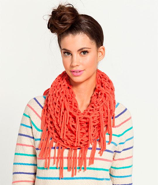 Выбираем теплый шарф