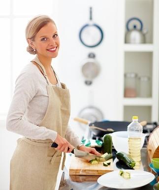 Женщин на кухне фото 186-875