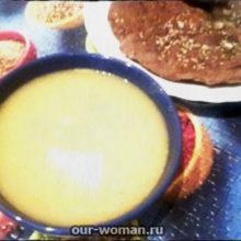 Рецепт картофельного супа-пюре с морковью и сельдереем