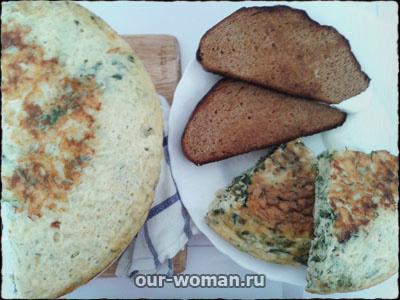 тврожная запеканка со шпинатом и сыром | our-woman.ru