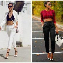Советы по стилю: модные укороченные брюки