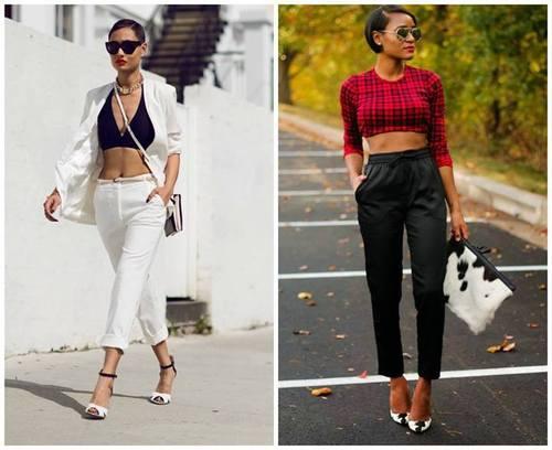 модные укороченные брюки 2014 | our-woman.ru