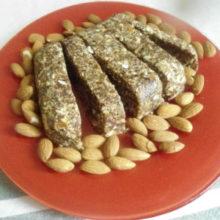 Рецепты вегетарианских блюд: энергетический батончик