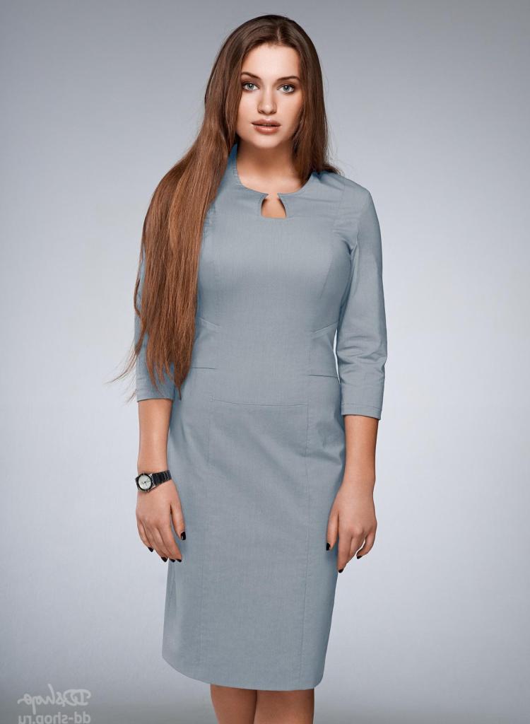 Офисное платье_8