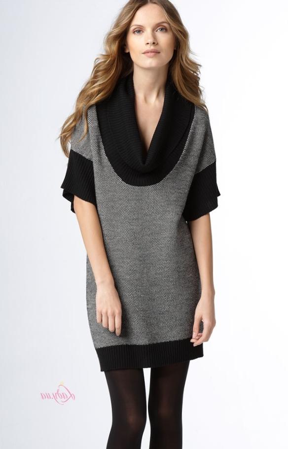 Платье свитер_11