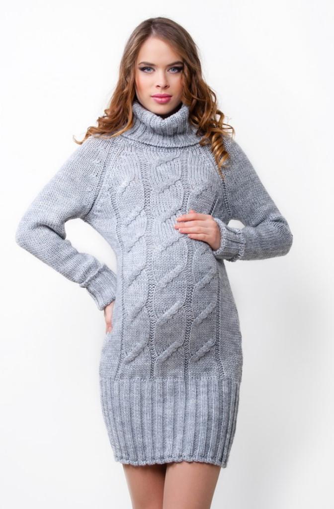 Платье свитер_13