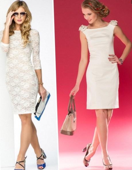 Сине белое платье фото туфли