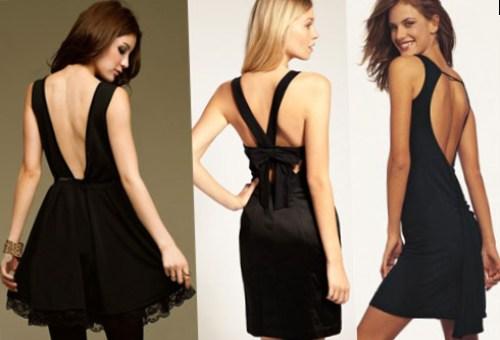 Маленькое черное платье и фигура