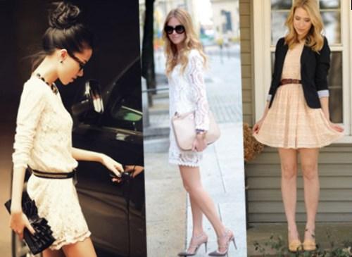 С чем носить пастельное платье