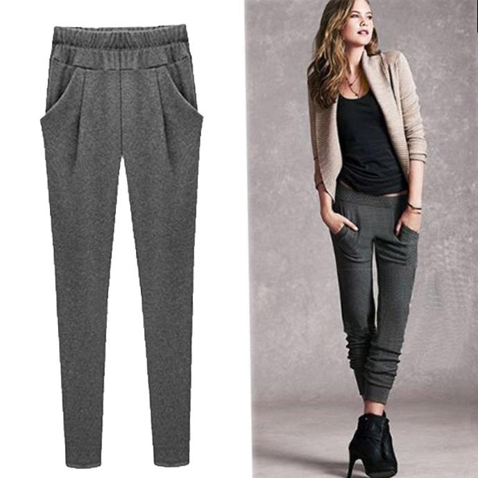 женские теплые брюки_20
