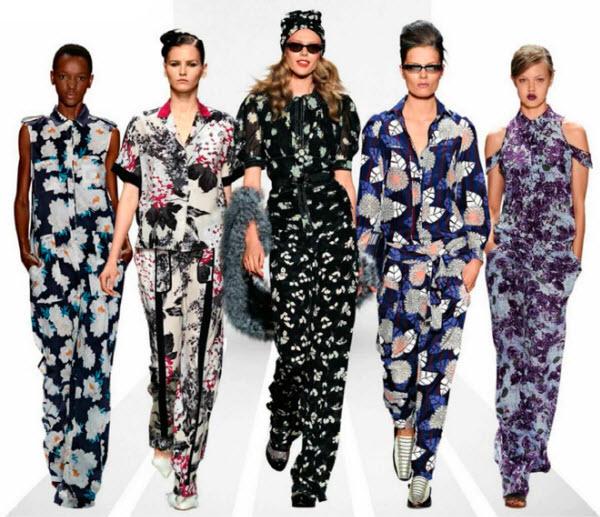 пижамный стиль в одежде 20162