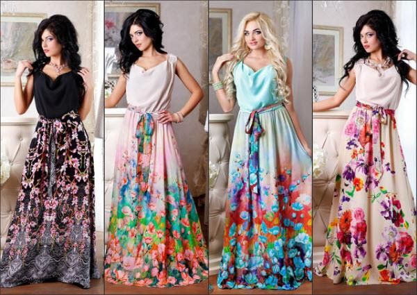 стильные летние платья 20161
