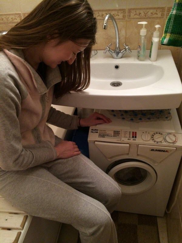 Малогабаритные стиральные машины автомат под раковину