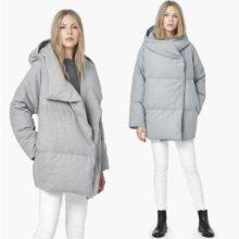 Теплый пуховик кокон: женские модные модели на 2017-2018 год (с фото)
