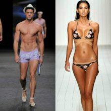 Женская и мужская пляжная мода на 2017 год модные тенденции (с фото)