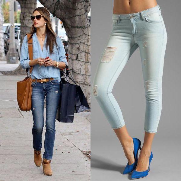 джинсы 2017 года модные женские фото этом говорится сообщении