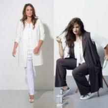 Сезон весна-лето 2017 года мода для полных женщин (фото новинок)