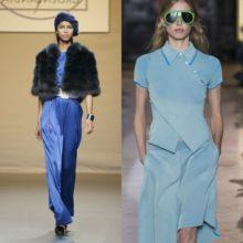 Какой цвет  одежды в моде на  2017 год: тренды на фото