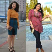 Для полных женщин и девушек модный базовый гардероб  на 2017 год. (идеи на фото)