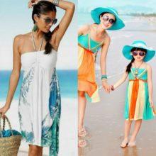 Пляжные платья для женщин: модные и стильные  образы на  фото