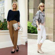 С чем носить модные женские  брюки с какой обувью: фото моделей на  2017 год
