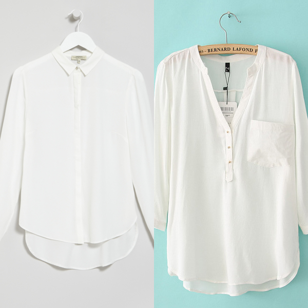 Белые блузки 2017