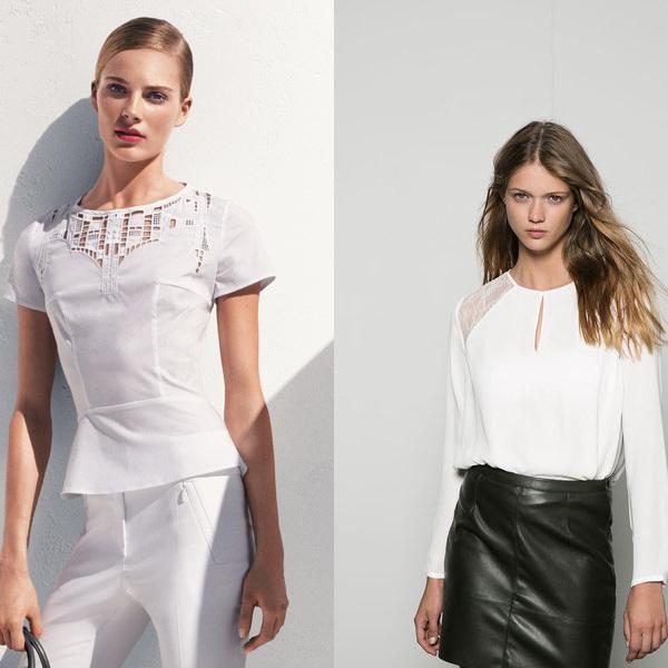 Блузки нарядные 2015