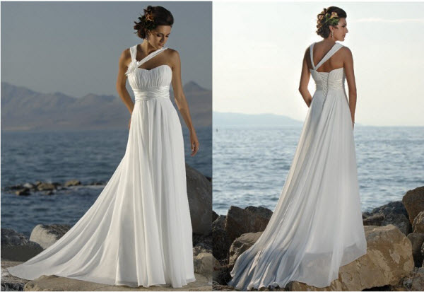 свадебное платье греческое ампир