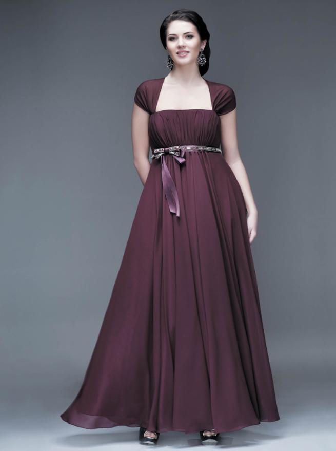 вечерние платья для полных_51