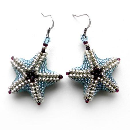Серьги в виде морской звезды символика украшений