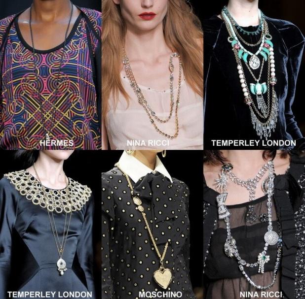 модные украшения лета 2013