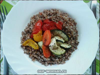 теплый салат с гречкой рецепт | our-woman.ru