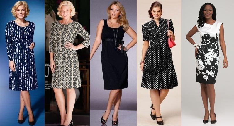 Фасоны летнего платья для женщин за 50 лет