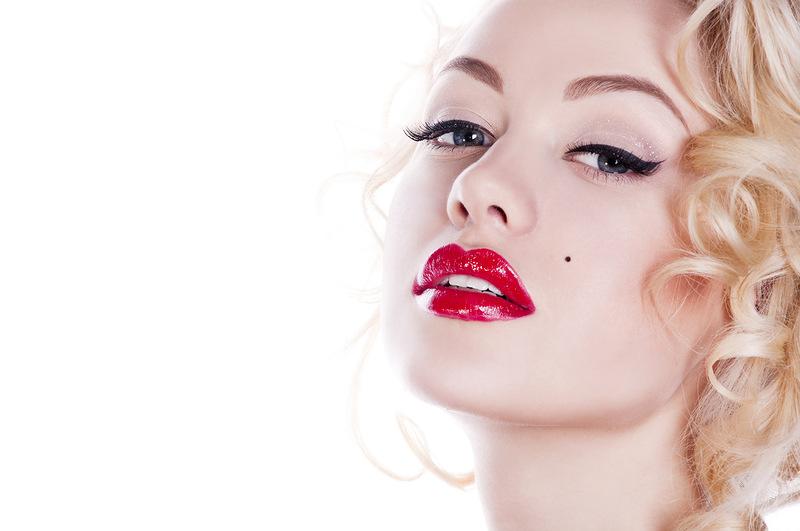 полезные советы для женщин макияж с красной помадой | our-woman.ru