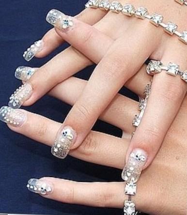 модный маникюр 2015 на короткие ногти_11