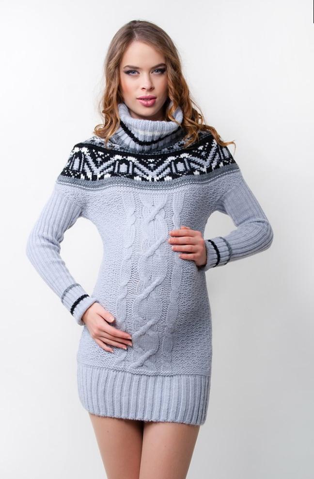 Платье свитер_14