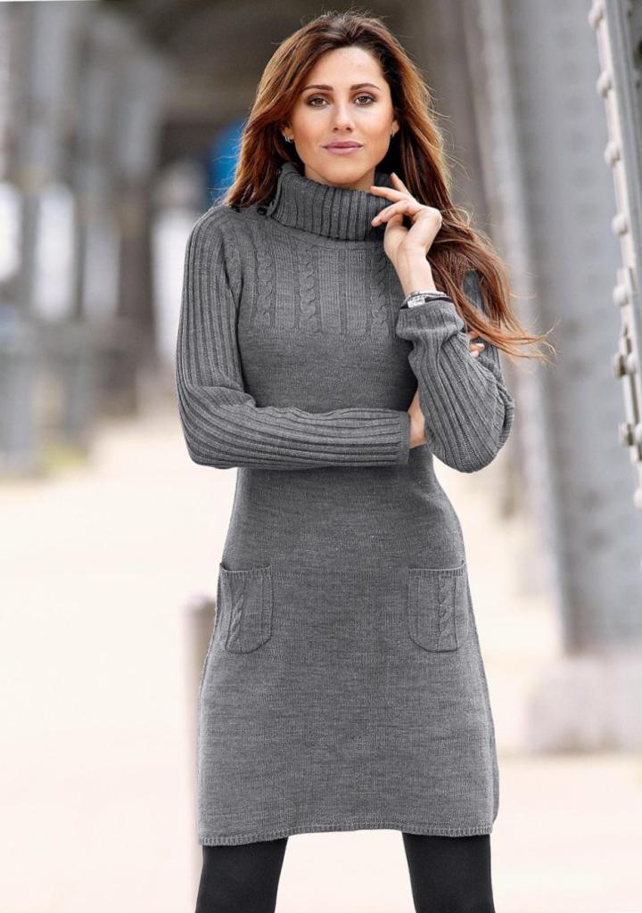 Платье свитер_17