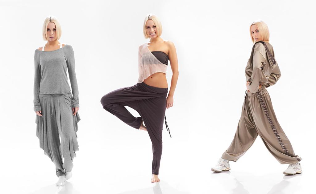 Спортивная женская одежда_12
