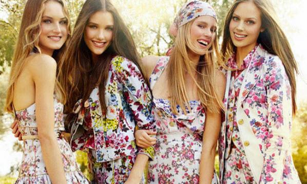 Цветочный принт в одежде 20161