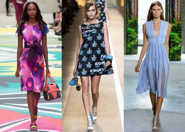 стильные летние платья 20164