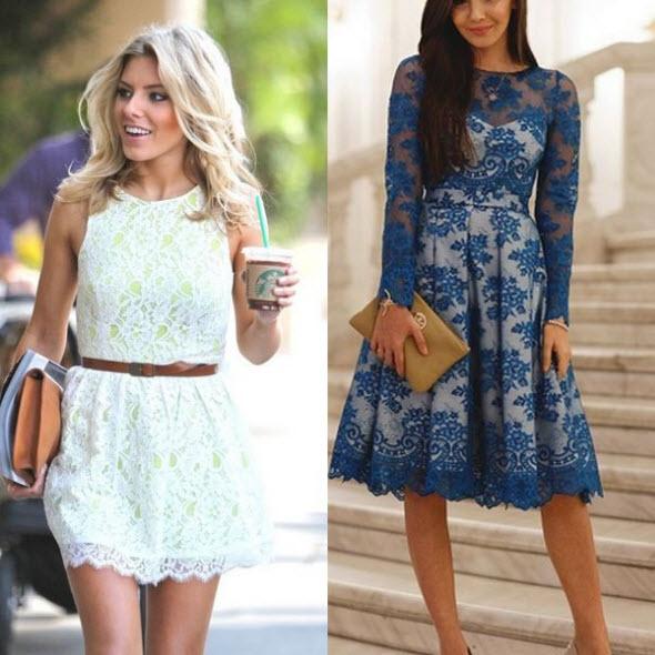 Фото модное платье на лето