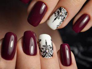 Декор ногтей шеллак