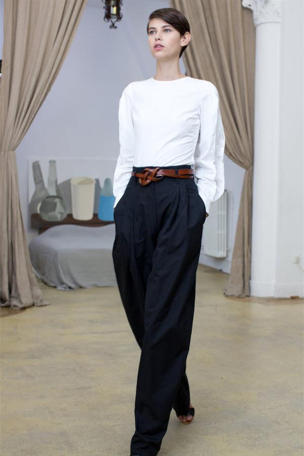 женские брюки в мужском стиле