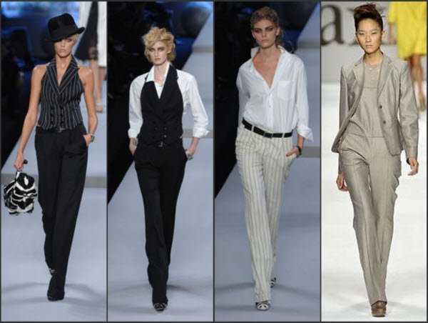 женские брюки в мужском стиле1