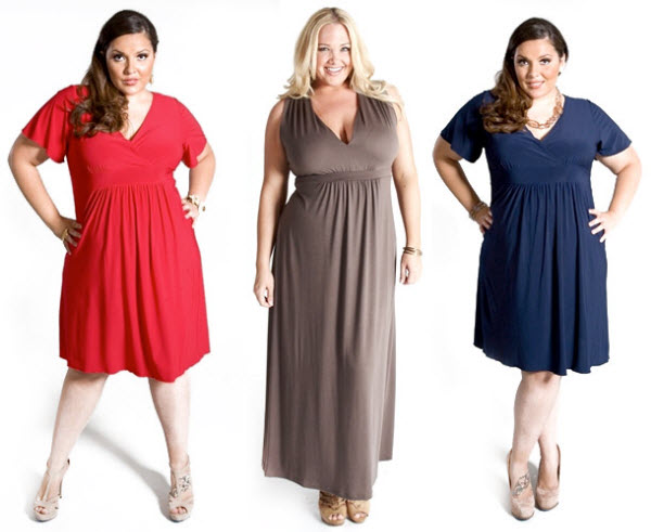 летние платья для полных женщин 2016 фото10
