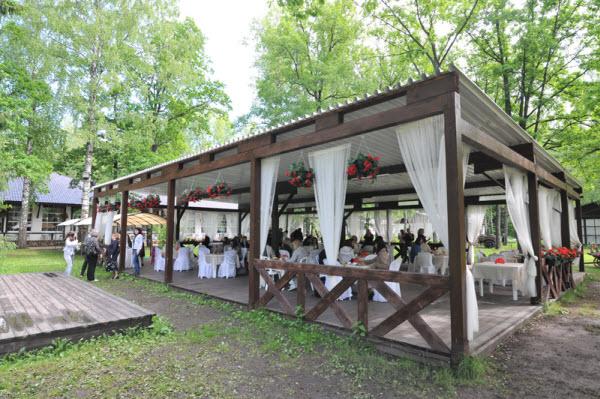 аренда коттеджа для проведения свадьбы