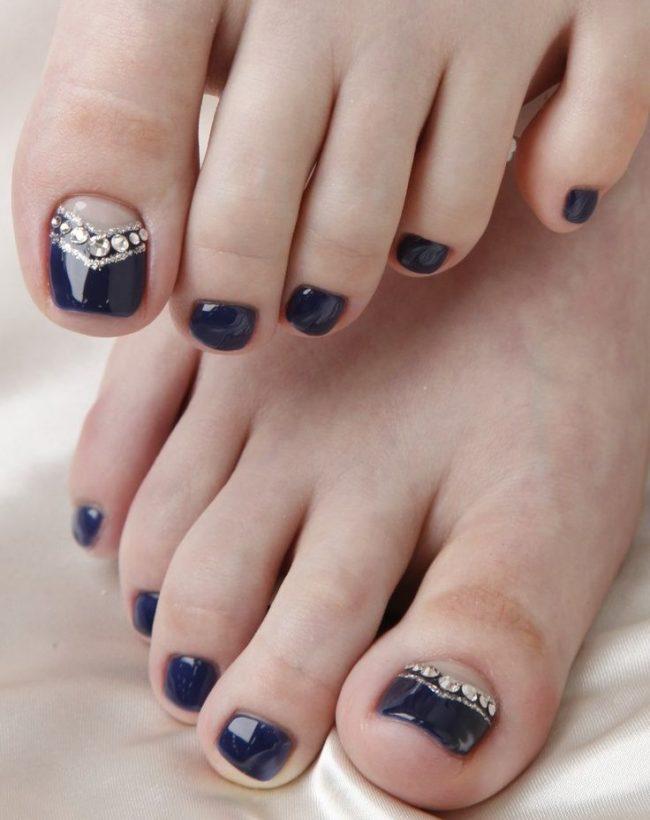 Идеи дизайна ногтей на ногах